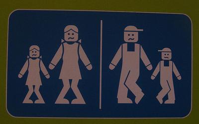 ウォシュレット取り付け屋さん:「今話題の「世界のトイレマーク」について」世界のトイレマーク2の画像(イメージ)