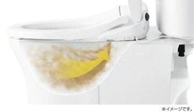 ウォシュレット取り付け屋さん:「TOTO ウォシュレット Sシリーズ」オート脱臭の画像