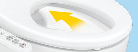 ウォシュレット取り付け屋さん:「パナソニック 温水洗浄便座 ビューティー・トワレ EJXシリーズ」オート脱臭の画像