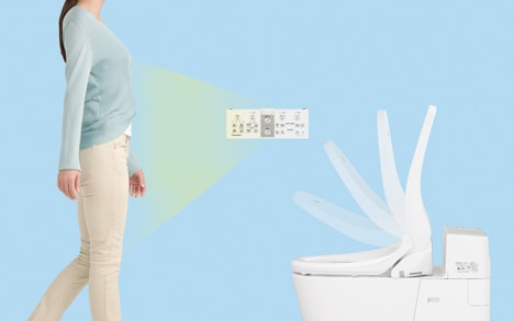 ウォシュレット取り付け屋さん:「パナソニック 温水洗浄便座 ビューティー・トワレ WHシリーズ」便ふた自動開閉の画像